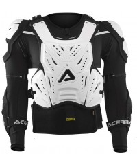 Protection intégrale enduro motocross Acerbis COSMO Avant Blanc