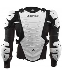 Protection intégrale enduro motocross Acerbis COSMO Arriere Blanc