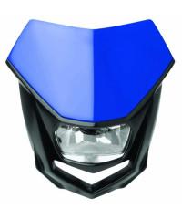 Plaque phare Polisport Halo-Bleu / Noir