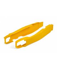 Protection plastique pour bras oscillant jaune