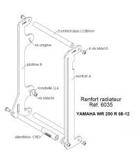Protections de radiateurs Pour YAMAHA WR250R / WR250X 2008-2010