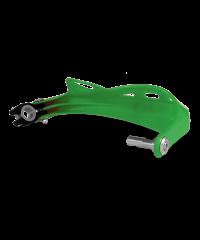 Protège-mains Rally Profile avec les fixations plastique (la paire) - VERT
