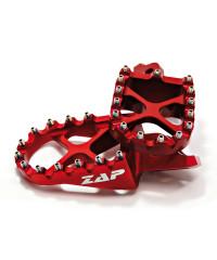 Repose-pieds KTM en Alu anodisé  - rouge