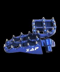 Repose-pieds YAMAHA en Alu anodisé  - bleu