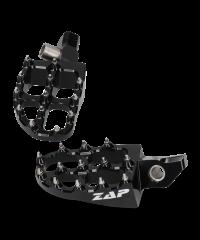Repose-pieds KTM en Alu anodisé  - noir