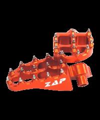 repose-pieds pour KTM alu anodisé (la paire) orange