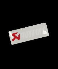 Sticker Akrapovic gel transparent