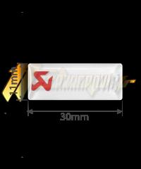 Sticker Akrapovic P-CST1POFILL
