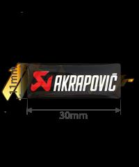 Sticker Akrapovic P-CST3POFILL