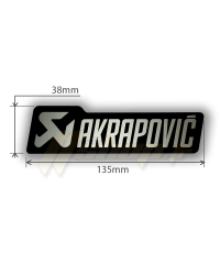 Sticker Akrapovic P-HST4ALMONO