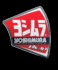 Autocollant d'origine pour pot Yoshimura RS4D-NB002