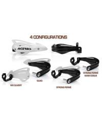 Configurations des protège-mains Acerbis TRI FIT
