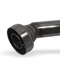 Chicane / dB-Killer / Réducteur de bruit Yoshimura pour pot Tri-Oval Titan de GSXR 600 K8 - K11
