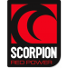 Autocollant Scorpion Red Power format portrait