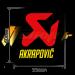 Autocollant Sticker Akrapovic 55 x 60 résistant à la chaleur P-HST13AL