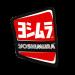 Autocollant droit Yoshimura pour pot RS9