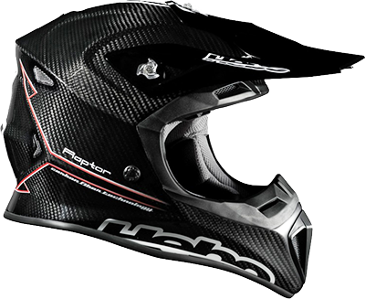 Casque carbone Enduro MX Hebo Raptore